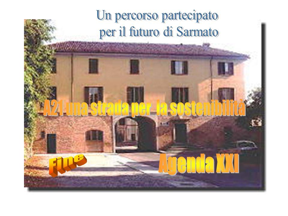 """Fine 2000 Processo del Progetto Agenda 21 Locale - Provincia di Piacenza EASW """"Piacenza Provincia sostenibile nel 2010"""""""