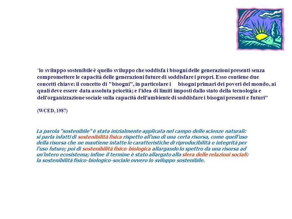A21L ITALY Coordinamento Italiano Agende 21 locali....DEFINIZIONI.... J.R. Hichs SOSTENIBILITA ' M assimo ammontare che una comunità può consumare in