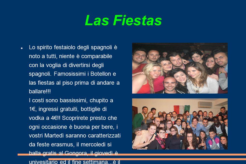 Las Fiestas Lo spirito festaiolo degli spagnoli è noto a tutti, niente è comparabile con la voglia di divertirsi degli spagnoli.