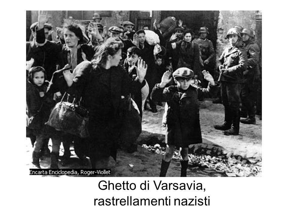 Ghetto di Varsavia, rastrellamenti nazisti