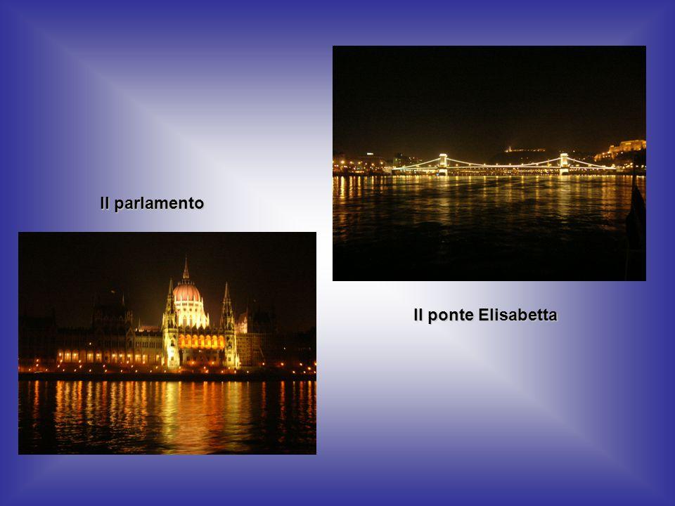 Il parlamento Il ponte Elisabetta