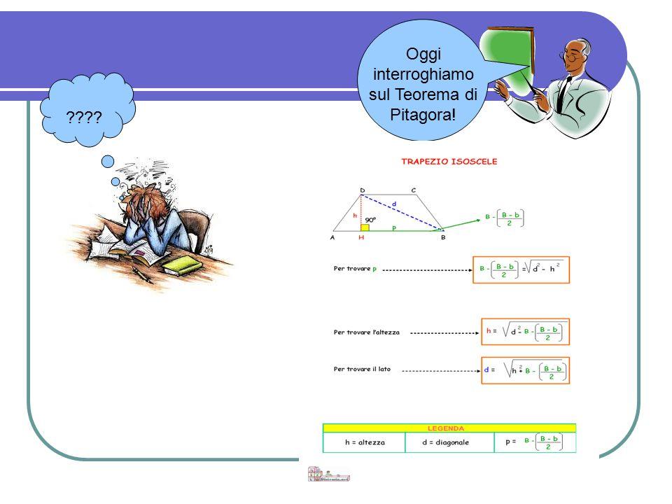 ???? Oggi interroghiamo sul Teorema di Pitagora!