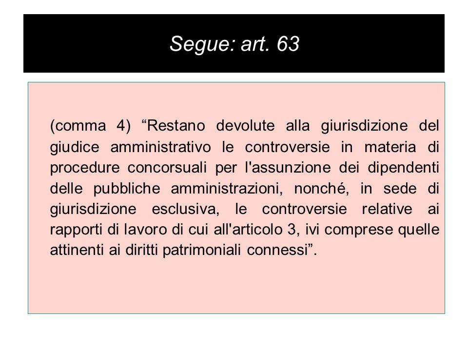 Segue: art.4.