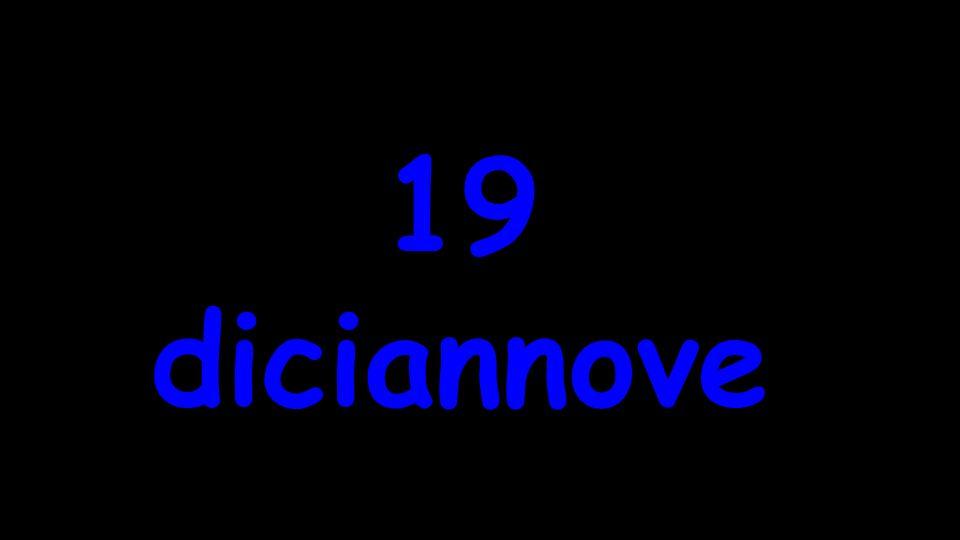diciannove