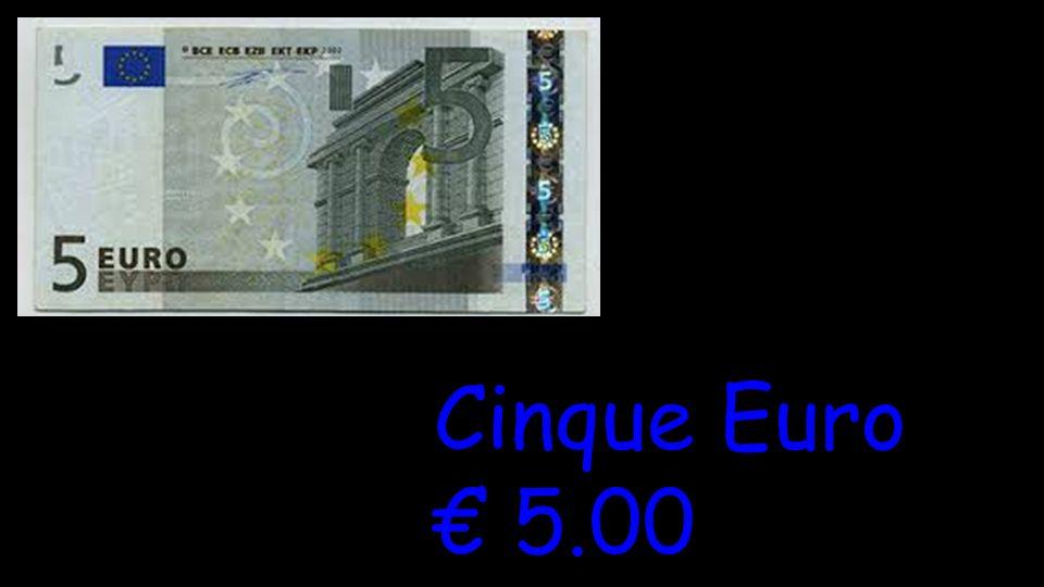 Cinque Euro € 5.00