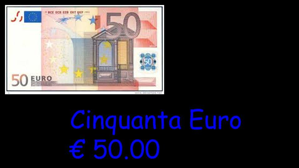 Cinquanta Euro € 50.00