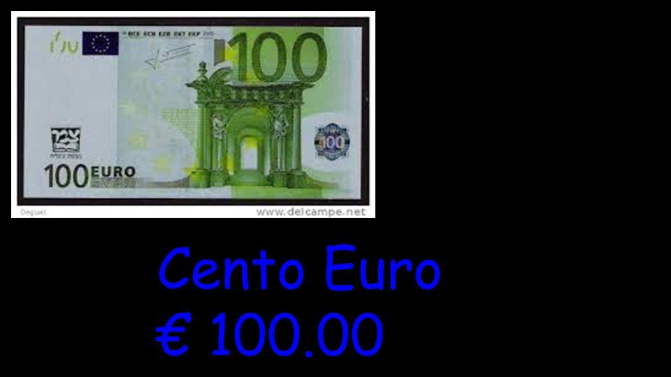 Cento Euro € 100.00