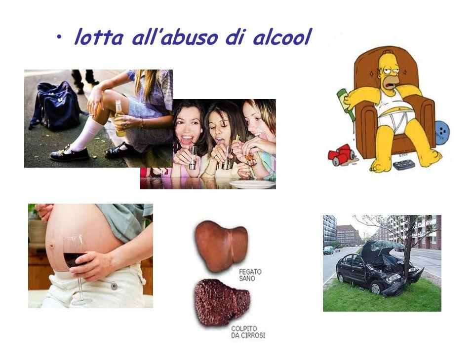 lotta all'abuso di alcool