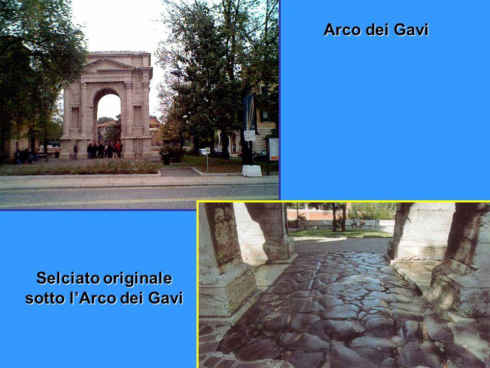 ARCO DEI GAVI Arco dei Gavi
