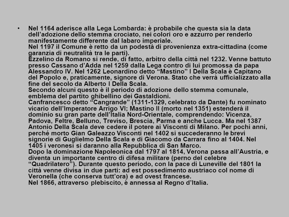 Molti toponimi di origine etrusca riportano la forma 'VERONA' (da 'Veru' o 'Veruna': due nomi personali dei Tirreni).