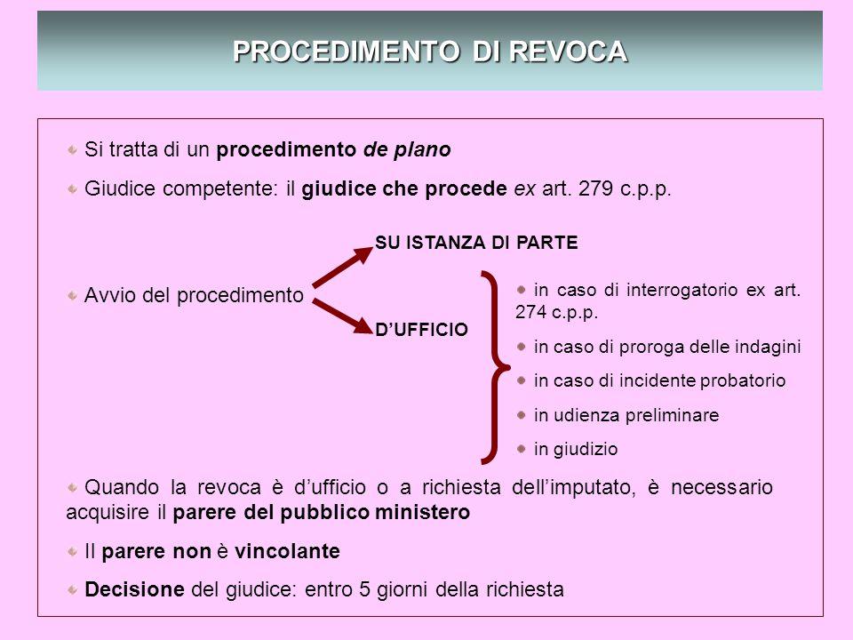 INTERROGATORIO Art.299 comma 3-ter c.p.p.