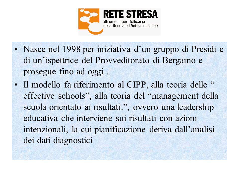 Nasce nel 1998 per iniziativa d'un gruppo di Presidi e di un'ispettrice del Provveditorato di Bergamo e prosegue fino ad oggi. Il modello fa riferimen
