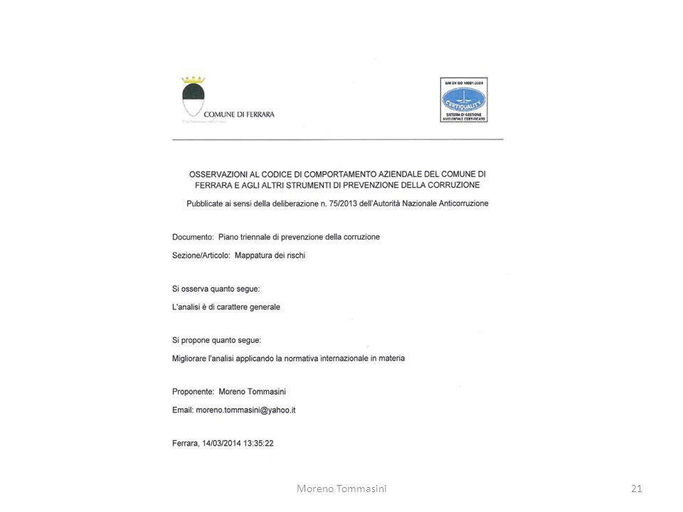 Moreno Tommasini21