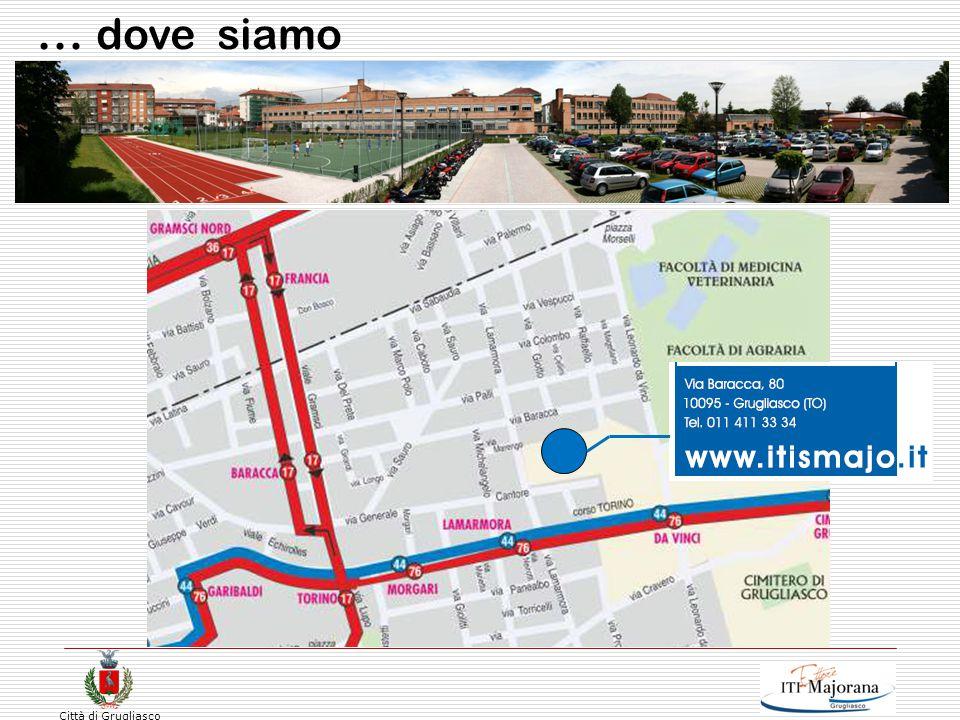 Città di Grugliasco Orario articolazione Informatica, Telecomunicazioni