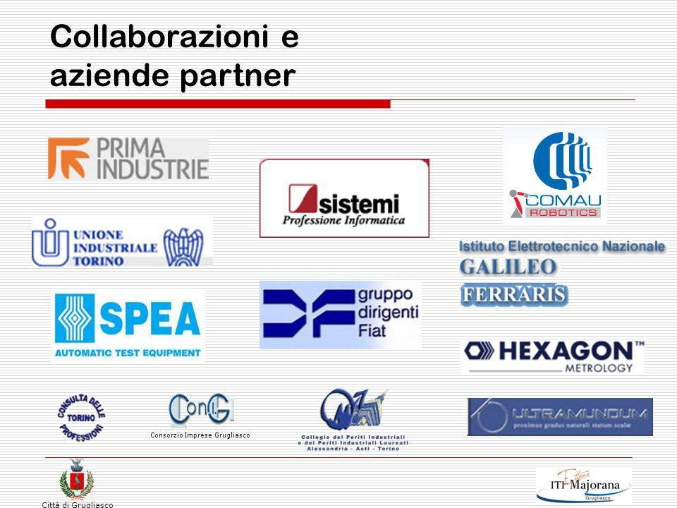 Città di Grugliasco Collaborazioni e aziende partner Consorzio Imprese Grugliasco