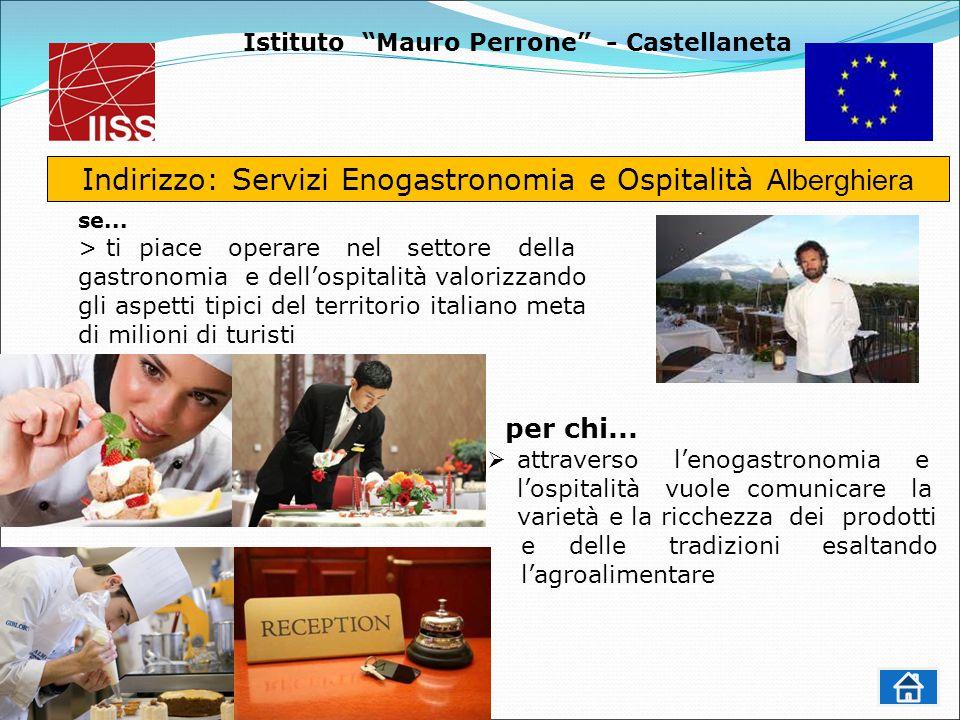 Istituto Mauro Perrone - Castellaneta Indirizzo: Servizi Enogastronomia e Ospitalità Alberghiera se...