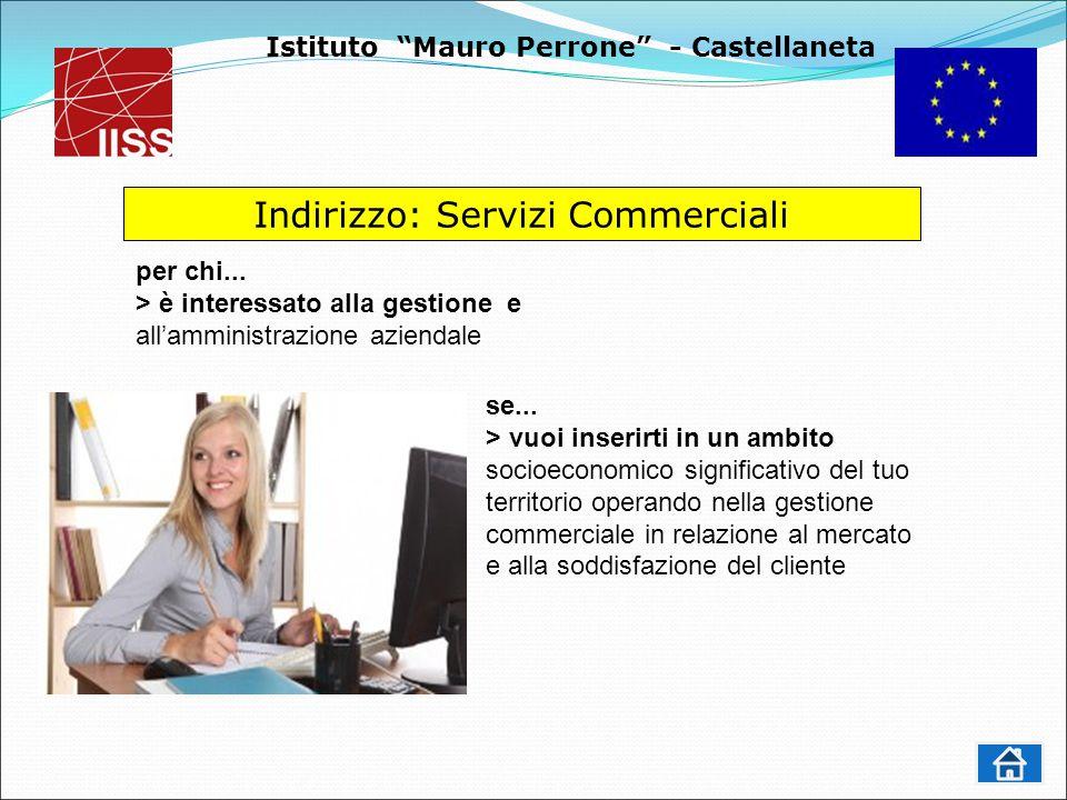 Istituto Mauro Perrone - Castellaneta Indirizzo: Servizi Commerciali se...