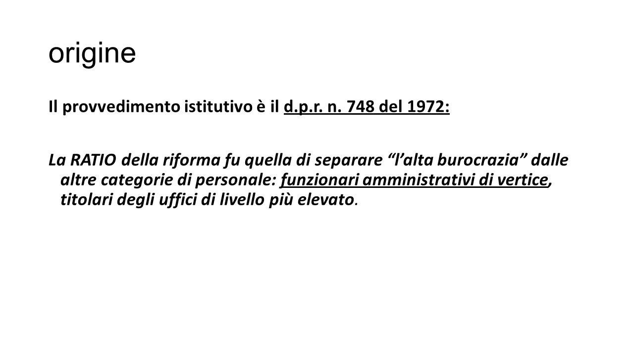 origine Il provvedimento istitutivo è il d.p.r.n.