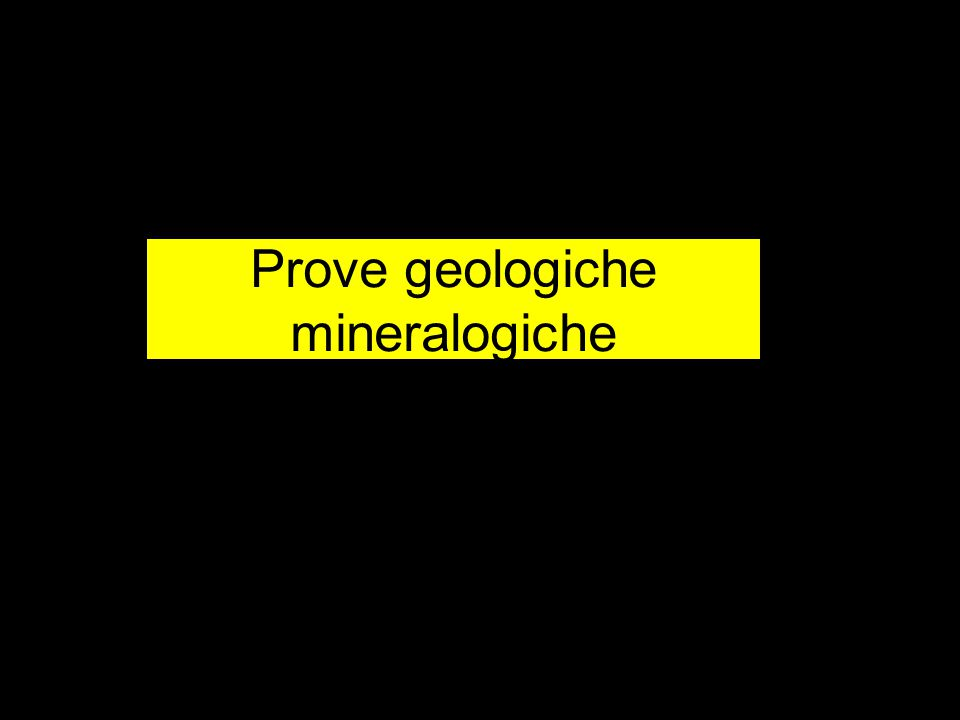 Prove geologiche mineralogiche
