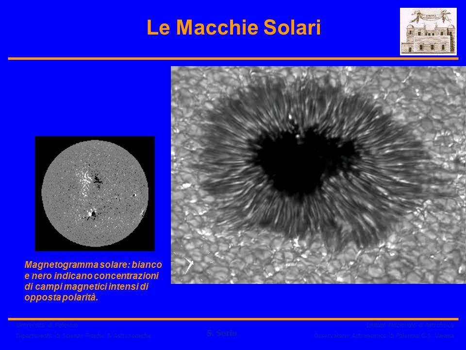 Universita' di Palermo Dipartimento di Scienze Fisiche & Astronomiche S. Serio Istituto Nazionale di Astrofisica Osservatorio Astronomico di Palermo G
