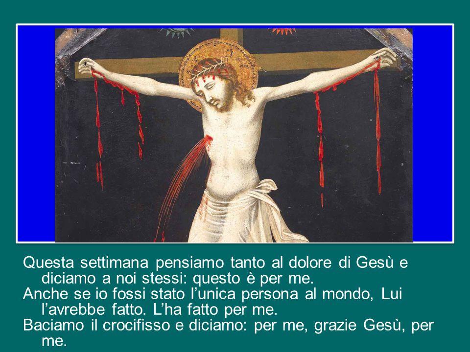 Ma Gesù permette che il male si accanisca su di Lui e lo prende su di sé per vincerlo.