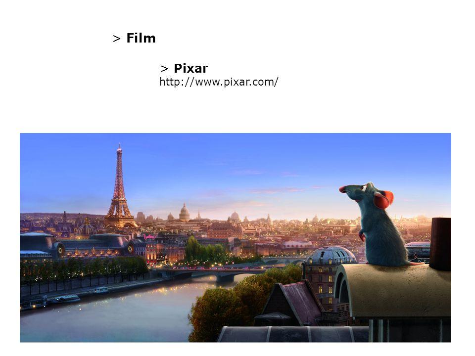 > Film > Pixar http://www.pixar.com/