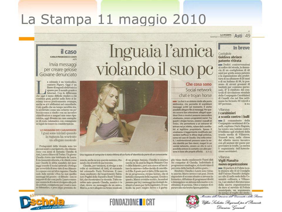 La Stampa 11 maggio 2010