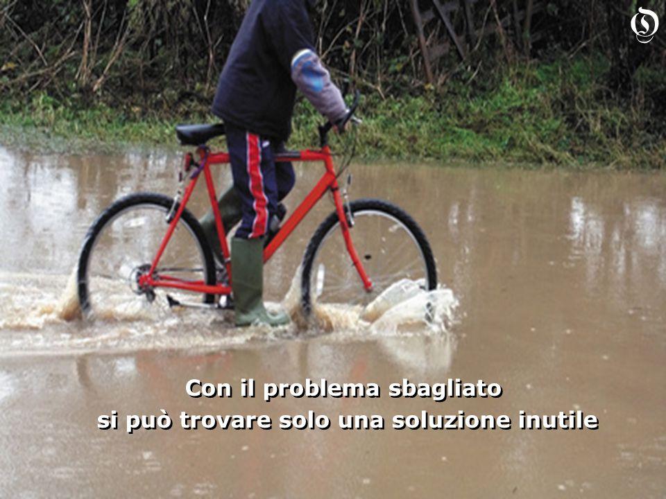 Con il problema sbagliato si può trovare solo una soluzione inutile Con il problema sbagliato si può trovare solo una soluzione inutile O