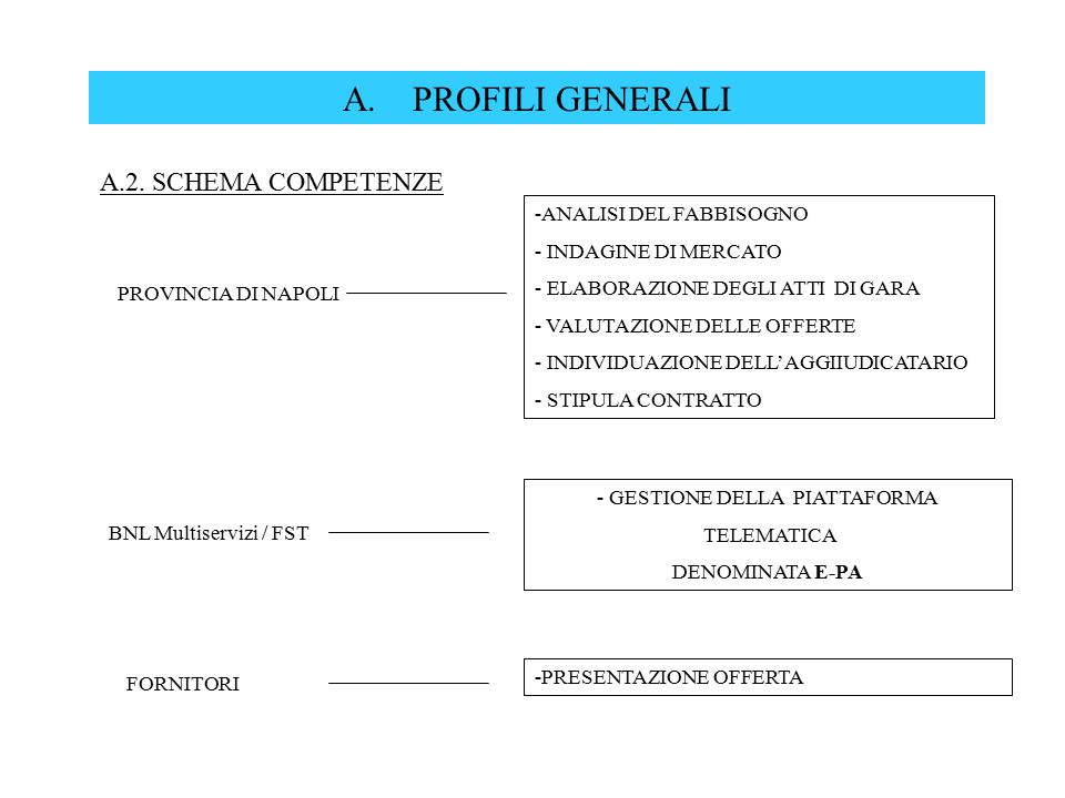 A. PROFILI GENERALI A.2.