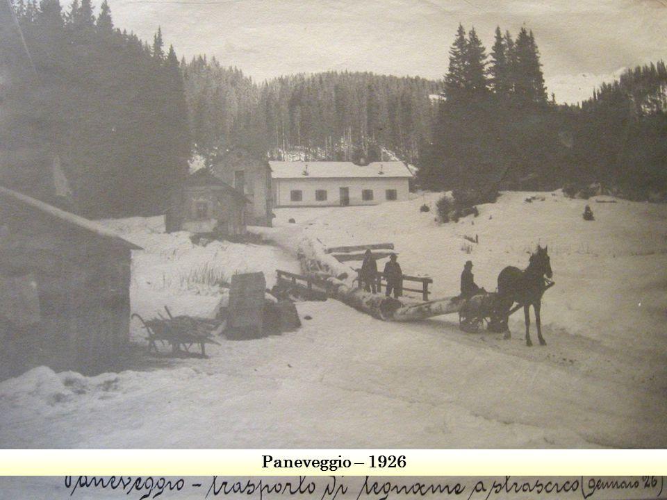 Paneveggio – 1926