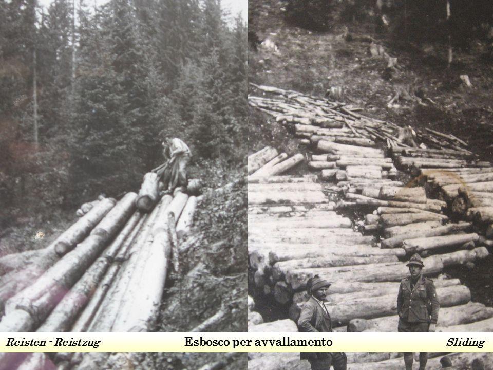Esbosco per avvallamentoEsbosco a soma Reisten - Reistzug Esbosco per avvallamento Sliding