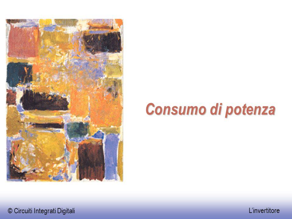 © Circuiti Integrati Digitali L'invertitore Consumo di potenza