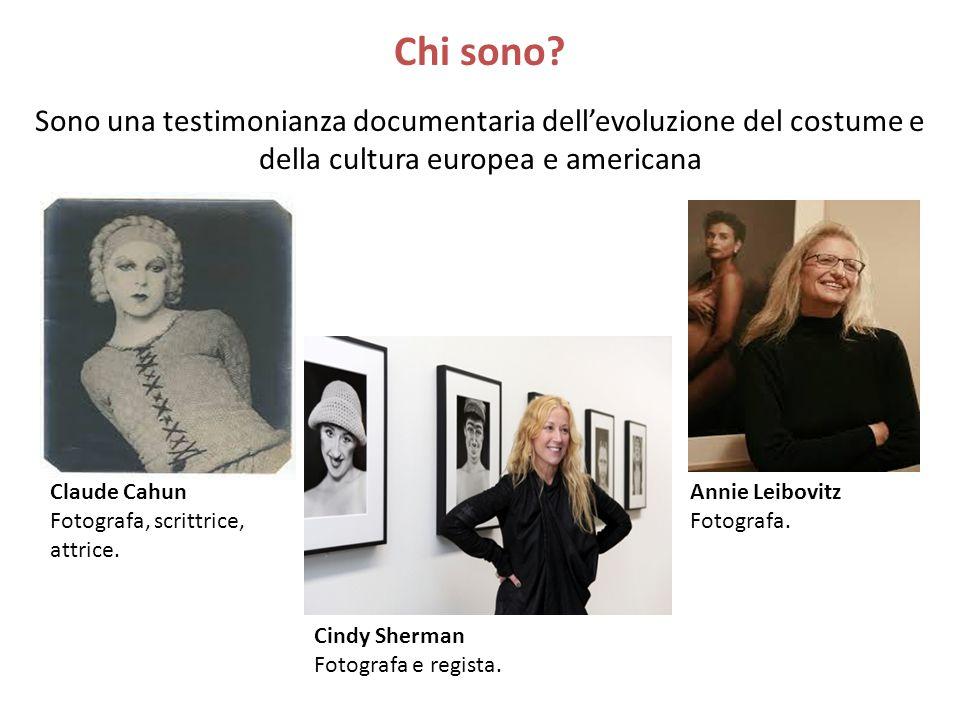Queste 3 donne, in ordine cronologico testimoniano la liberazione dei criteri estetici, che comporta la svalutazione dei confini dei generi e la commistione della fotografia coi vari mezzi e le varie arti.