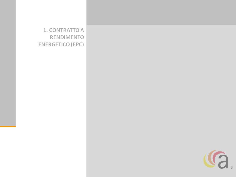 3 1. CONTRATTO A RENDIMENTO ENERGETICO (EPC)