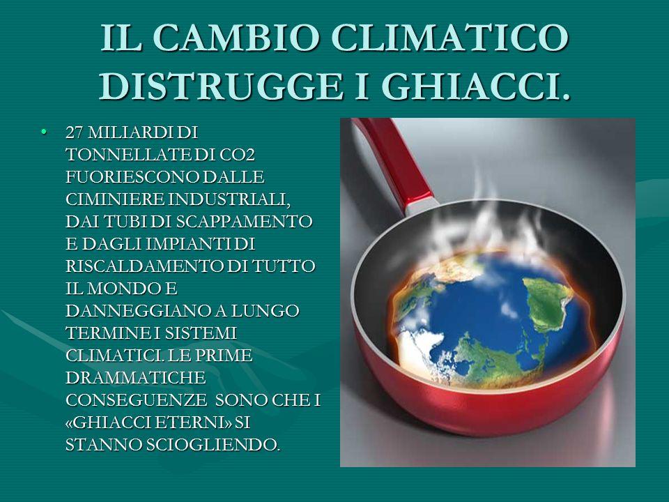 UN POPOLO OPPRESSO DAI BIANCHI. IL CAMBIO CLIMATICO PROVOCATO DAI PAESI INDUSTRIALIZZATI E DAL BOOM DEI PAESI EMERGENTI HA AVUTO CONSEGUENZE DISTRUTTI