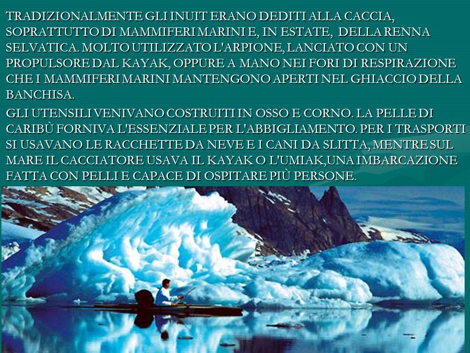 Poesia Inuit Ricordo le mie strane avventure quando sospinto dal vento andavo alla deriva nel mio kayak.
