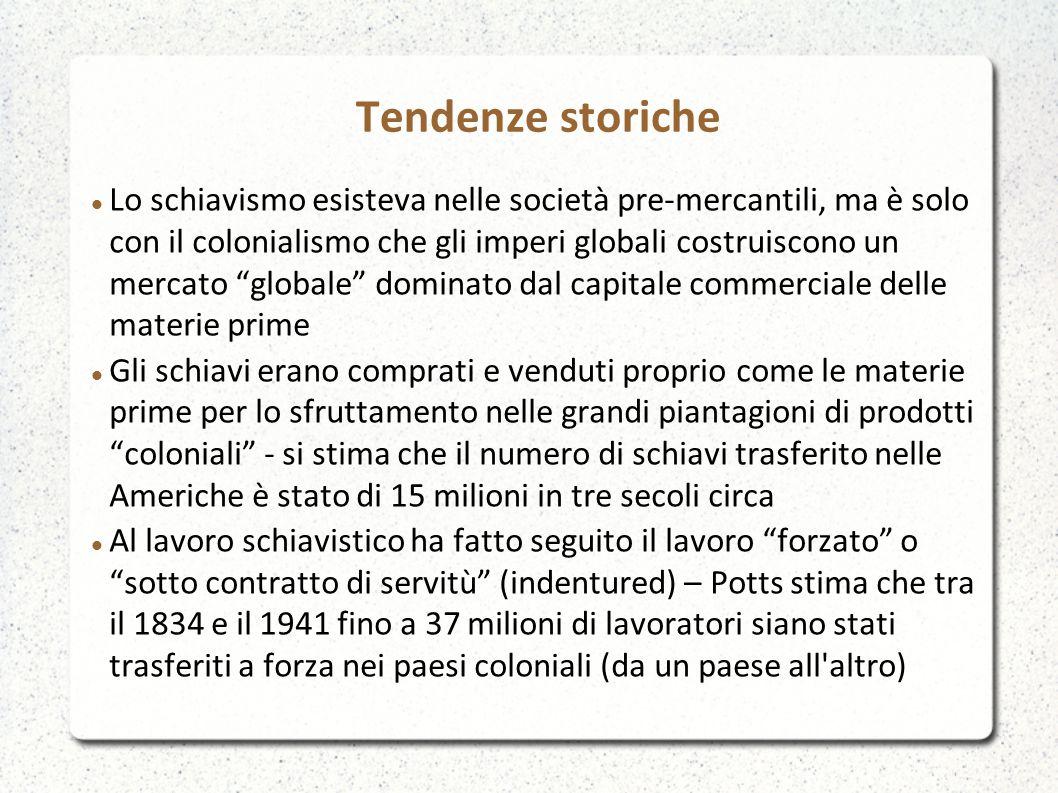 Tendenze recenti Consultare anche: DESA_World_Migration_Figures_2013.pdf UNSD_The_number_of_international_migrants.pdf UNSD_South-South_migration_2013.pdfIOM_World- Migration-Report_2013.pdf