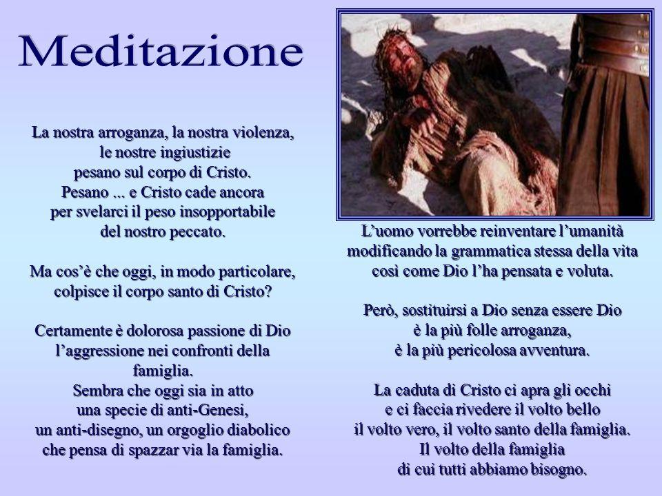 SETTIMA STAZIONE SETTIMA STAZIONE Gesù cade per la seconda volta Via Crucis, Felix Anton Scheffler - 1757 Chiesa di San Martino - Ischl, Seeon (dioces