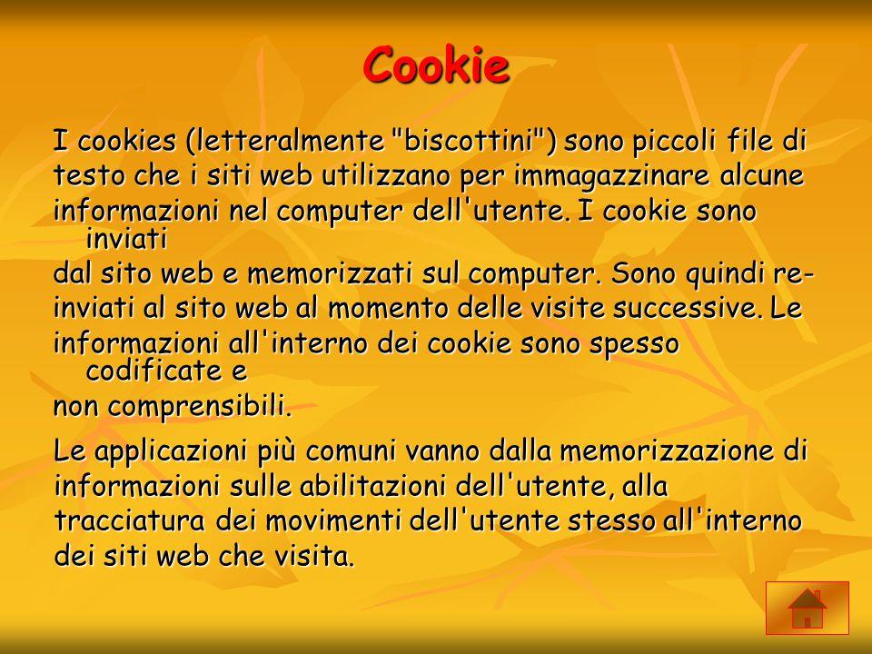 Cookie I cookies (letteralmente