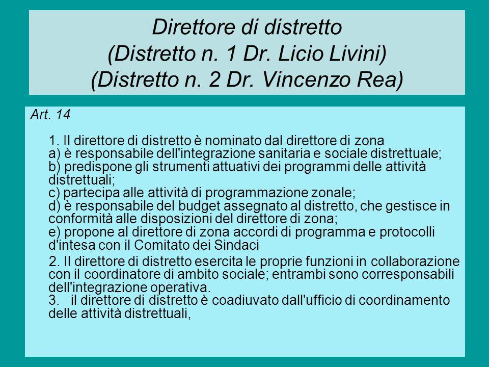 Presidio ospedaliero Art.15 1.