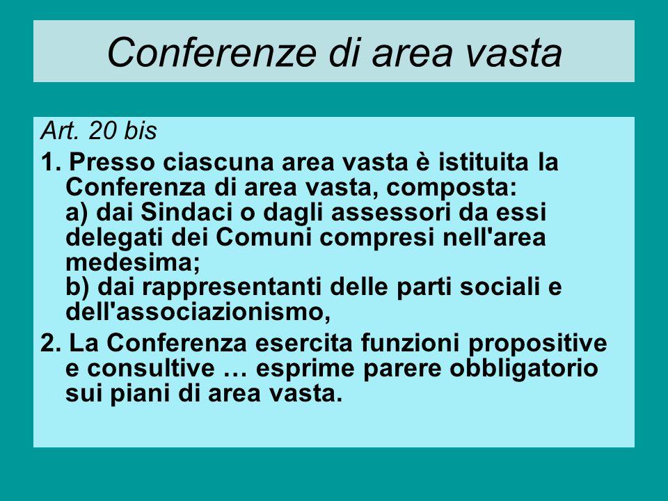 Comitato dei Sindaci di distretto Art.22 1.