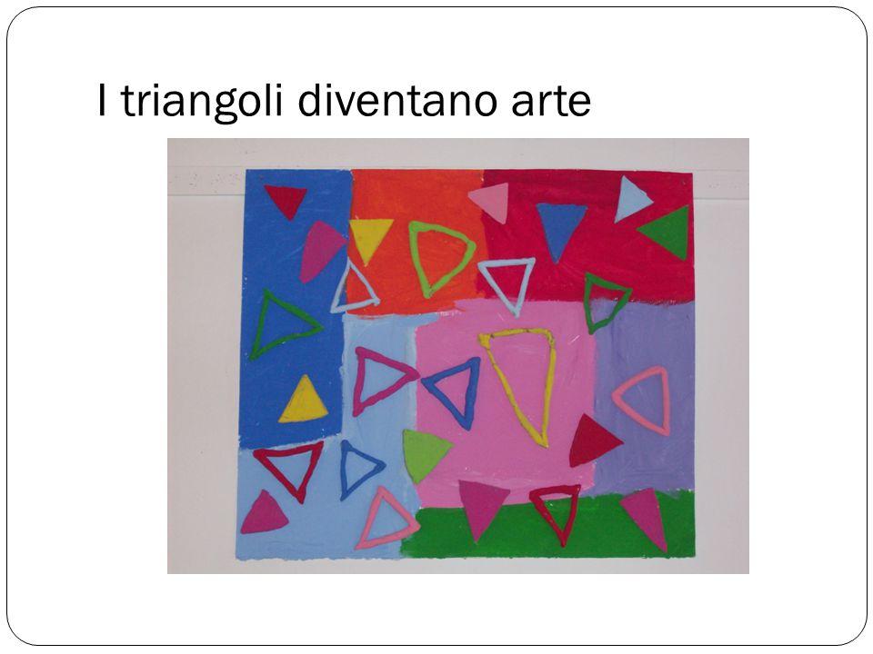I triangoli diventano arte
