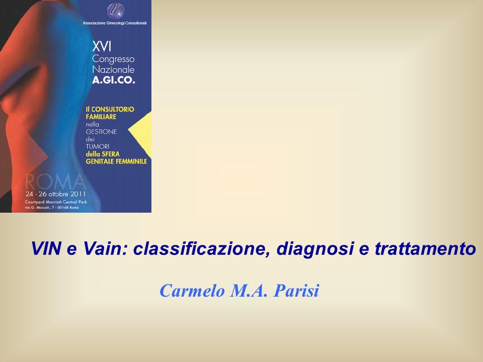 Carmelo M.A. Parisi VIN e Vain: classificazione, diagnosi e trattamento