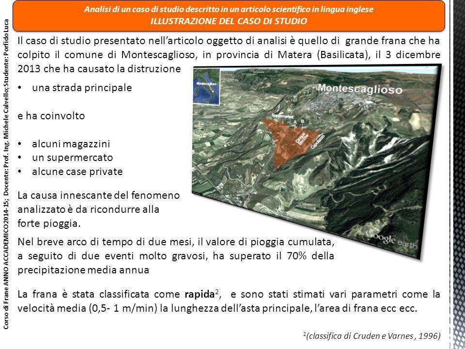 3 Istituto Geografico Militare Italiano ( IGMI, http://www.igmi.org/voli/ ) Corso di Frane ANNO ACCADEMICO 2014-15; Docente: Prof.