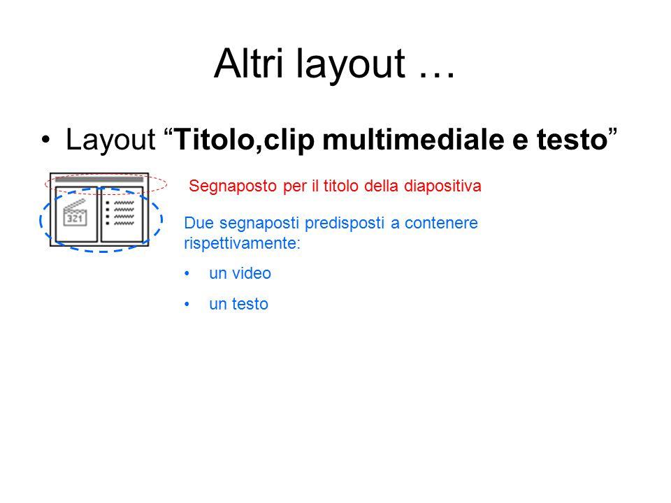 Esempio #1 – Domande a risposta multipla Creiamo una sequenza di diapositive ognuna delle quali contiene una domanda a risposta multipla: due caselle di testo, la prima con la domanda e la seconda con un elenco puntato delle possibili opzioni di risposta.