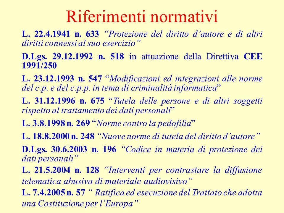 Corrispondenza informatica (segue) Art.617 sexies c.p.