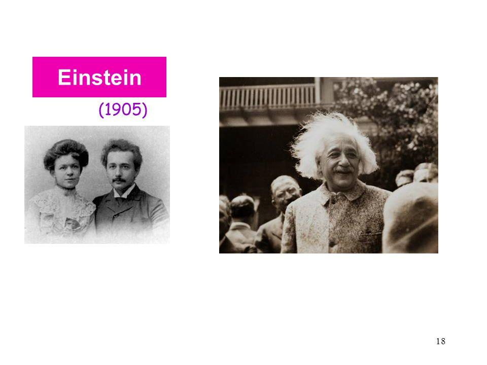 18 Einstein (1905)