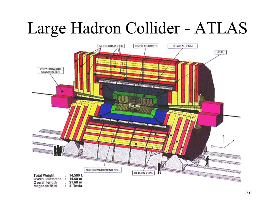 56 Large Hadron Collider - ATLAS