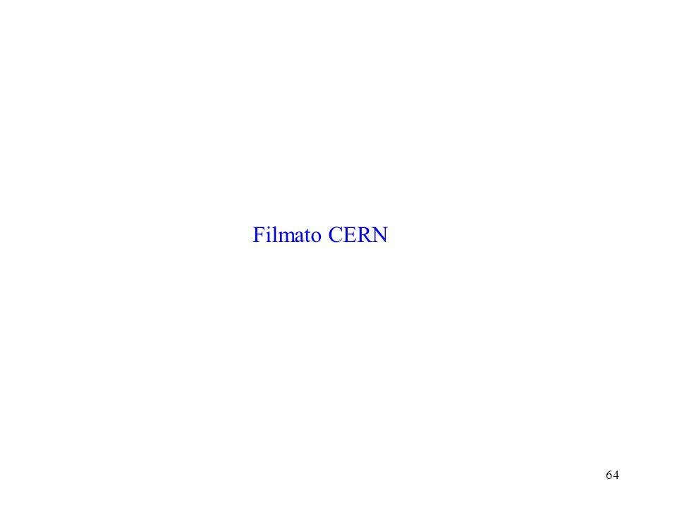 64 F.Riggi, Microcosmo e macrocosmo, Vacanze studio Gennaio 2002 Filmato CERN L'unificazione delle forze