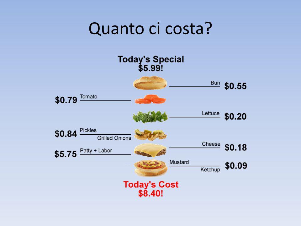 Quanto ci costa?